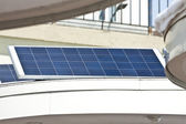 Solar installed in the city. — Stock Photo