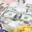 Stock Photo: International currencies, various state