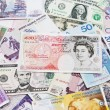 International currencies, various state — Stock Photo