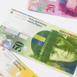Stock Photo: Swiss francs