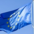 Stock Photo: Flag of EuropeUnion against sky