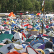 Camping at music festival — Foto de stock #31970435