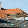 Roof of an apartment block — Stock Photo