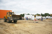 Private home construction site — Stock Photo