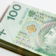 Polish currency - PLN - Polish zloty — Lizenzfreies Foto