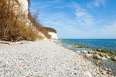 Chalk cliffs of Rügen Island — Stock Photo