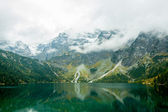 Sea eye in Polish Tatras — ストック写真