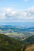 Panorama do polonês montanhas tatra — Foto Stock