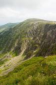 Mountains Karkonosze in Poland — Stock Photo