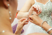 Wears Wedding Jewelry — Stockfoto