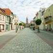 Stock Photo: City Grodzisk Wielkopolski in Poland