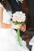 Bouquet sposa di Rose — Foto Stock