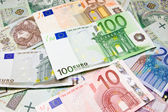 Euro European currency - money — Stock Photo