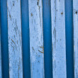 Blue old wood fence — Stock Photo #39261493