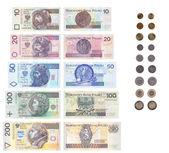 List of Polish money — Stock Photo