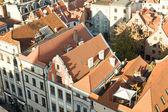 Torun in Poland as seen from a bird's eye — Stock fotografie