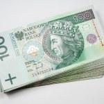 Polish money - 100 zloty PLN — Stock Photo #41046835