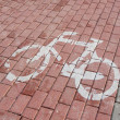 Bike path - sign — 图库照片 #41048197