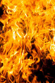 Fire and heat as a concept of danger — Stock Photo