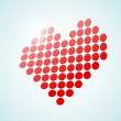 Royalty-Free Stock Vectorielle: Heart vector