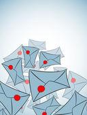 Envelope background — Stock Vector