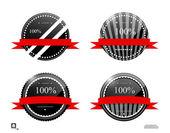 Etiqueta 100 — Vetorial Stock