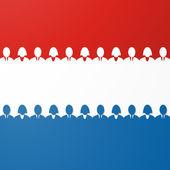 Netherland flag — Stock Vector