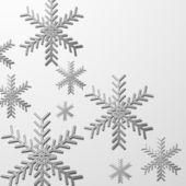 Kerstmis sneeuwvlok — Stockvector