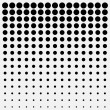 Black dots — Stock Vector