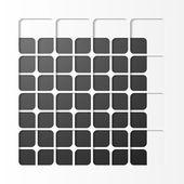 Black squares design — Stock Vector