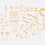 Hand drawn arrows set — Stock Vector #37222213
