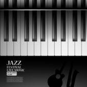 Jazzowy party plakat — Wektor stockowy