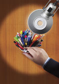 Ball point pens — Stock Photo