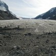 Athabasca Glacier - Stock Photo