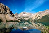 Bow Lake Reflections 1 — Stock Photo