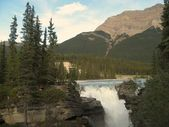 River and Falls — Stock Photo
