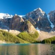 Stock Photo: Corner of Moraine Lake