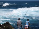 Fishermen in Puerto de la Cruz — Stock Photo