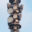 Stock Photo: Radio tower closeup