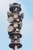 Radio tower closeup — Stock Photo