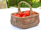 Tomato Basket 1 — Stock Photo