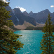 Stock Photo: Moraine Lake View