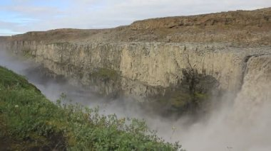 Dettifoss Waterfall — Stock Video
