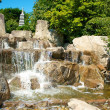 Japanese Garden Cascades 2 — Stock Photo