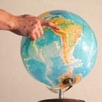 Illuminated globe 1 — Stock Photo #33294953