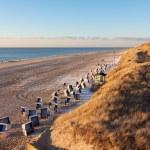 Quiet North Sea beach — Stock Photo