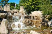 Japanese Garden Cascades 2 — Stock Photo
