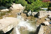Japanese Garden Cascades top LT — Stock Photo