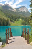 Emerald Lake Pier — Stockfoto