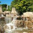 Japanese Garden Cascades — Stock Photo